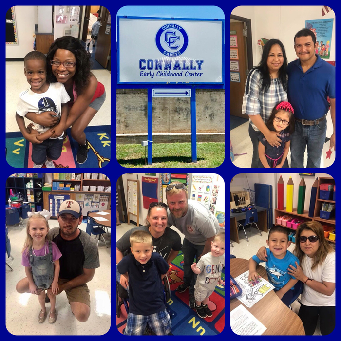 1st Day at Connally Early Childhood Center