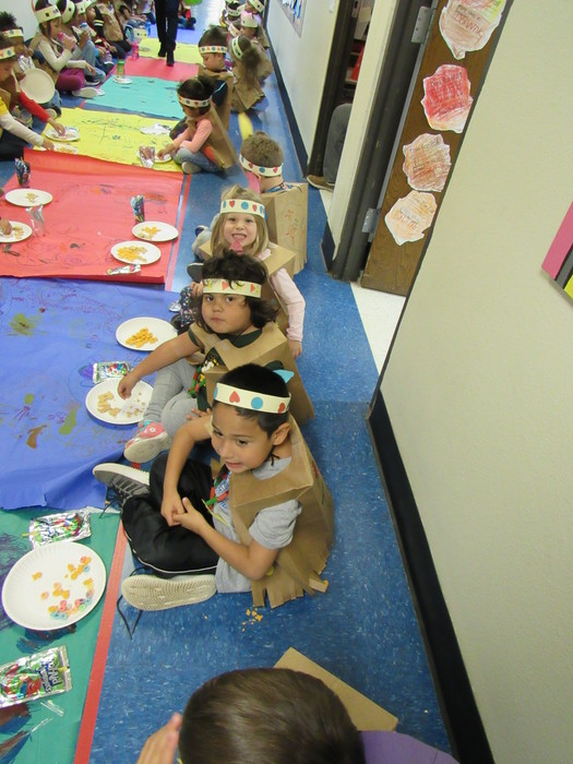 Pre-K Thanksgiving Feast