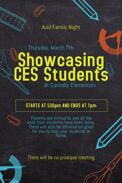 poster for CES Avid Night Showcase 530 - 7